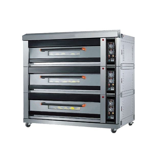 3-deck-16 tray -oven